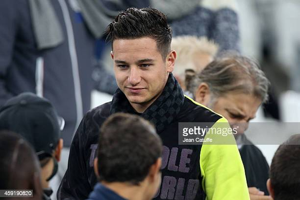 Florian Thauvin attends the international friendly match between France and Sweden at the New Stade Velodrome on November 18 2014 in Marseille France