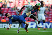 Florian Thauvin of France battles with Lawrence Lartey of Ghana during the FIFA U20 World Cup Group A match between France and Ghana at the Ali Sami...