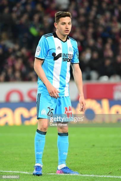 Florian Thauvin of Marseille during the Ligue 1 match between Lille OSC and Olympique de Marseille at Stade Pierre Mauroy on March 17 2017 in Lille...