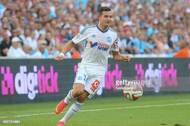 Florian Thauvin of Olympique de Marseille FC during the French Ligue 1 between Olympique de Marseille FC and Montpellier Herault FC at Stade...