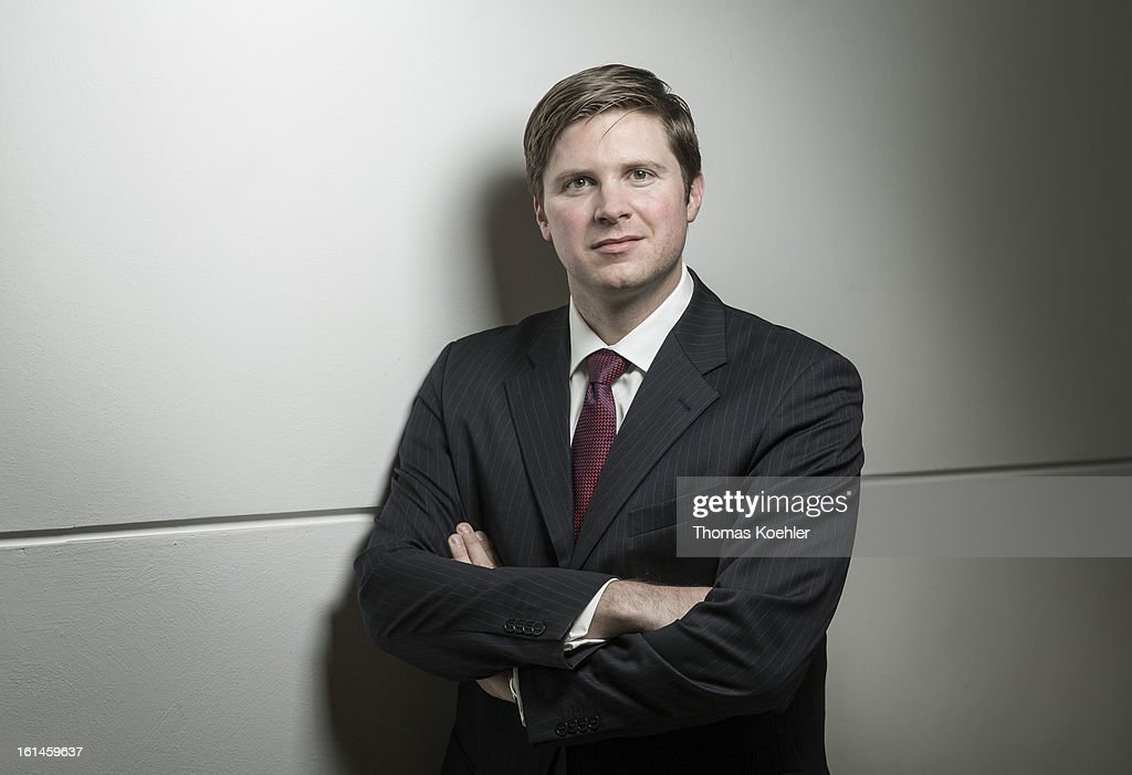 Florian Toncar, member of German Free Democrats political party (FDP), poses for a phototgraph on January 29, 2013 in Berlin, Germany.