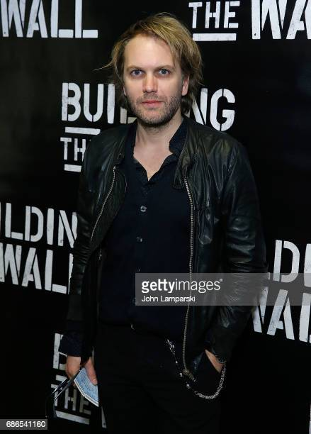 Florian Zeller attends 'Building The Wall' opening night at New World Stages on May 21 2017 in New York City