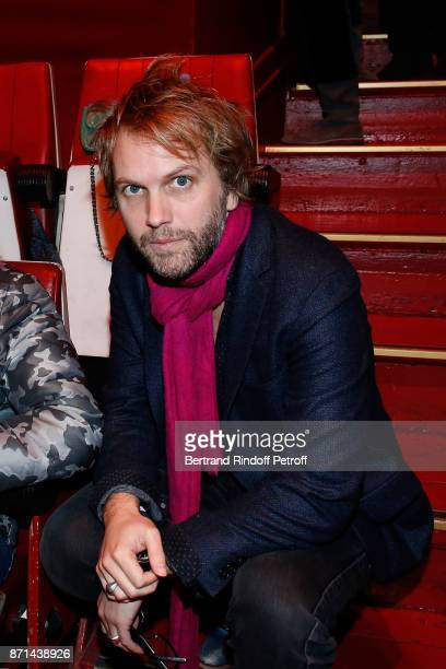 Florian Zeller attends 'Depardieu Chante Barbara' at Le Cirque d'Hiver on November 6 2017 in Paris France