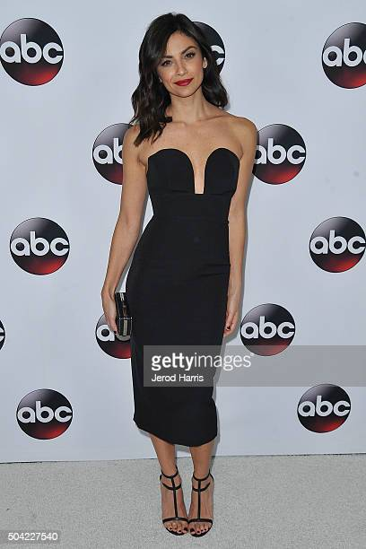 Floriana Lima arrives at the Disney/ABC 2016 Winter TCA Tour at the Langham Hotel on January 9 2016 in Pasadena California