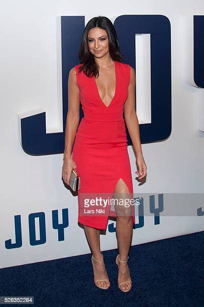 Floriana Lima attends the 'Joy World Premiere' at the Ziegfeld Theatre in New York City © LAN