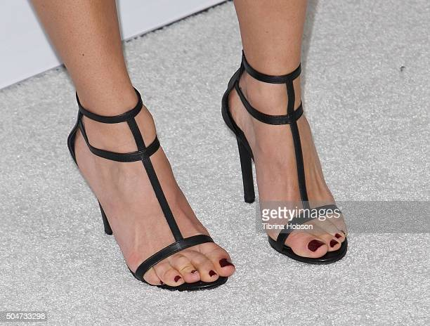 Floriana Lima shoe detail attends the Disney/ABC 2016 Winter TCA Tour at Langham Hotel on January 9 2016 in Pasadena California