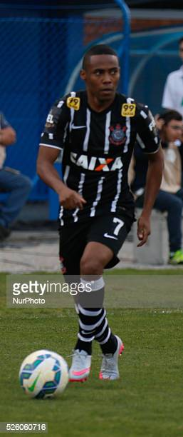Florian��polis/SC Elias from Corinthians from 19th round of Brazilian Soccer Championship 2015 Photo Fernando Remor