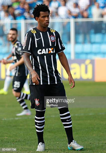 Florian��polis/SC Gil from Corinthians from 19th round of Brazilian Soccer Championship 2015 Photo Fernando Remor