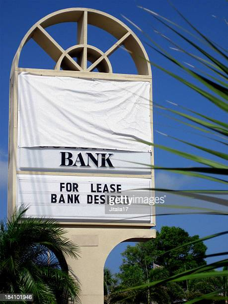 Florida Bank Failures - Recession Concept Photo