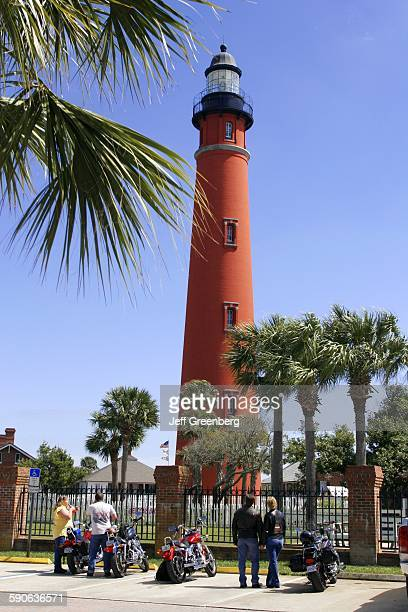 Florida Daytona Beach Ponce De Leon Inlet Lighthouse Museum Built 1887 Us Second Tallest