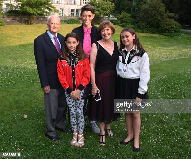 Florida House Representative Gayle Harrell James Harrell and other family seen together during the 2017 Henry A Kissinger Prize at the American...