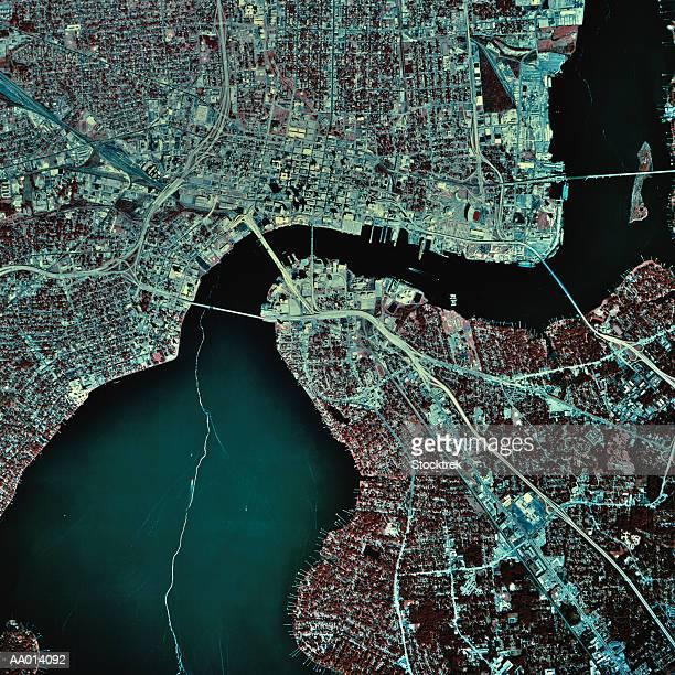 USA, Florida, Jacksonville, satellite image