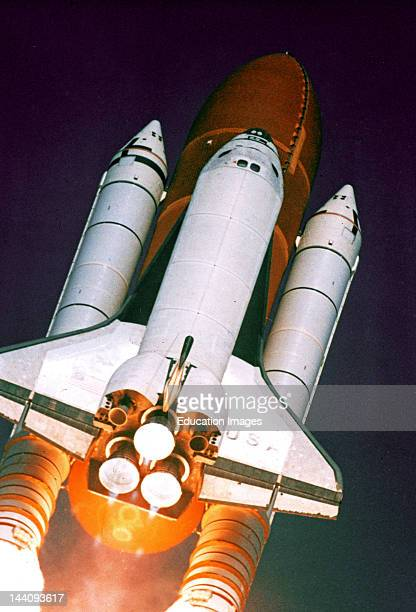 Florida Kennedy Space Center Lauch Of Space Shuttle Columbia