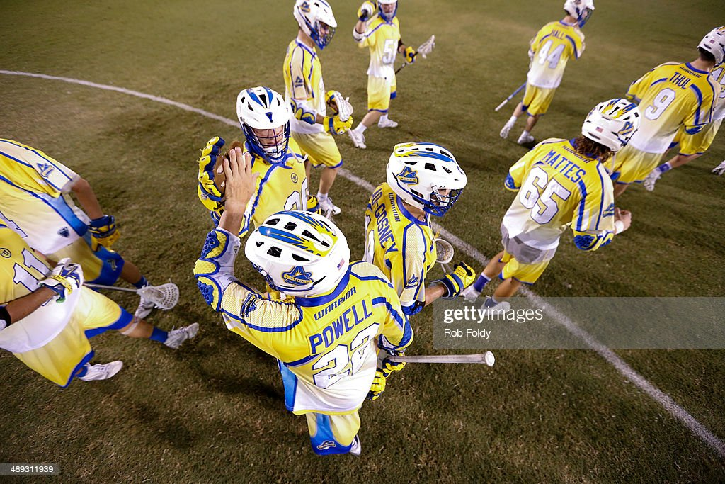 Florida Launch players celebrate after a goal after the game against the Ohio Machine at Florida Atlantic University Stadium on May 10, 2014 in Boca Raton, Florida.