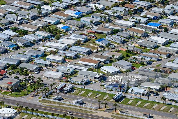 Florida manufactured homes badly damaged in Hurricane Matthew