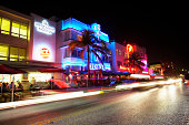 USA, Florida, Miami Beach, South Beach, night