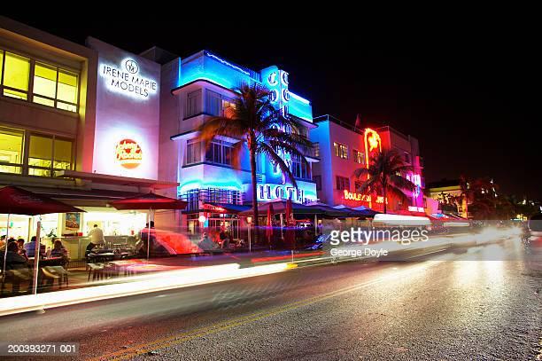 USA, Florida, Miami Beach, South Beach, night