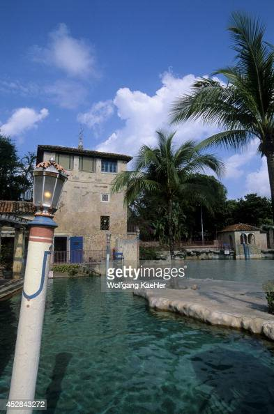 Venetian pool stock photos and pictures getty images for Pool show coral gables