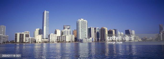 USA, Florida, Miami, panoramic : Stock Photo