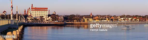 USA, Florida, Panoramic view of Saint Augustine