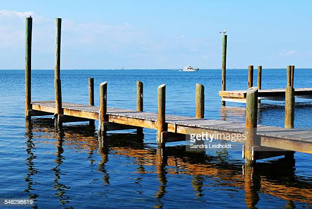 Florida Pier Reflection