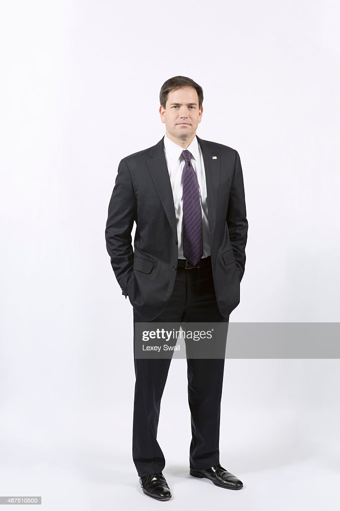 Florida Senator is photographed for New York Times Magazine on December 4, 2014 in Washington, DC. PUBLISHED IMAGE.