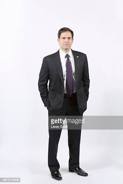 Florida Senator is photographed for New York Times Magazine on December 4 2014 in Washington DC PUBLISHED IMAGE