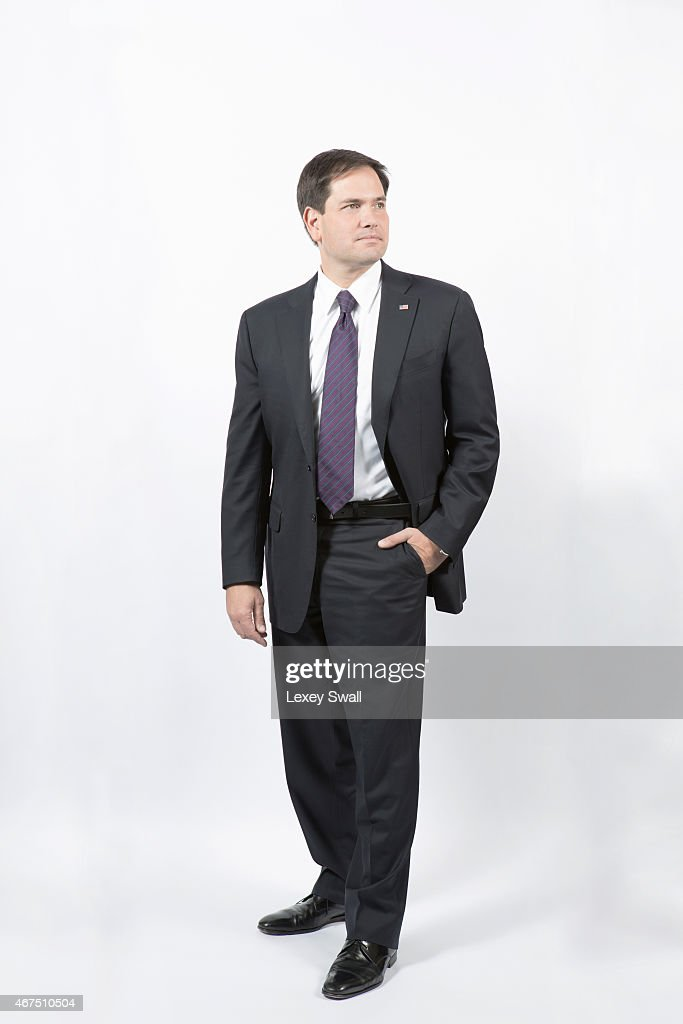 Florida Senator is photographed for New York Times Magazine on December 4, 2014 in Washington, DC.