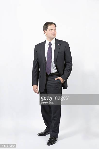 Florida Senator is photographed for New York Times Magazine on December 4 2014 in Washington DC