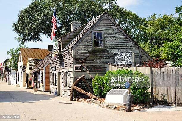 USA, Florida, St. Augustine, old wood school
