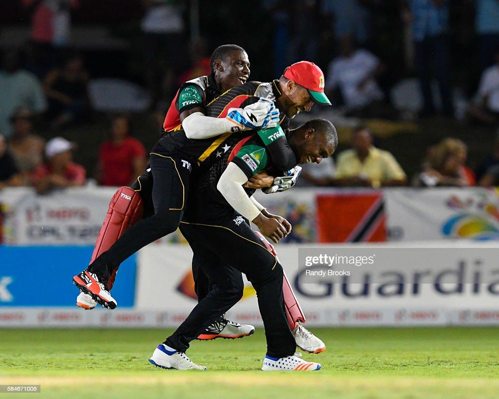 St Kitts and Nevis Patriots v Trinbago Knight Riders - Hero Caribbean Premier League - Match 26