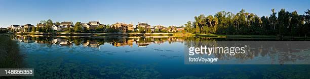 Floridia idyllic lake shore town suburban family homes real estate