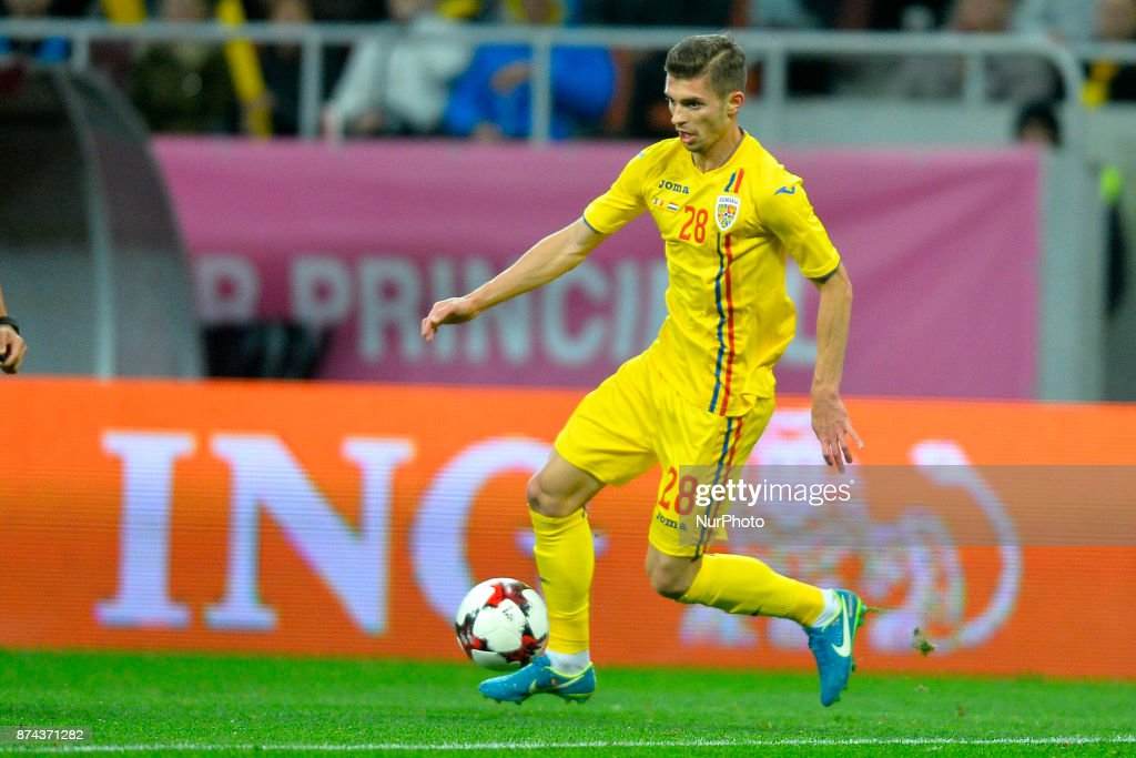 Florin Tanase (Rom) during the International Friendly match between Romania and Netherlands at National Arena Stadium in Bucharest, Romania, on 14 november 2017.