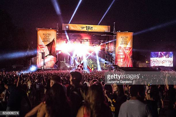 Flosstradamus performs on the Miller Lite stage at Zilker Park during ACL Music Festival on Friday October 2 2015 in Austin Texas