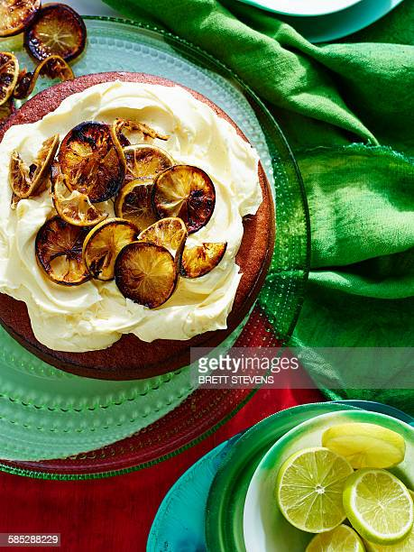 Flourless Lime Almond Cake