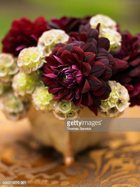 Flower arrangement with Dahlias