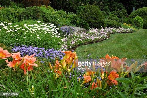 風景と花のガーデン