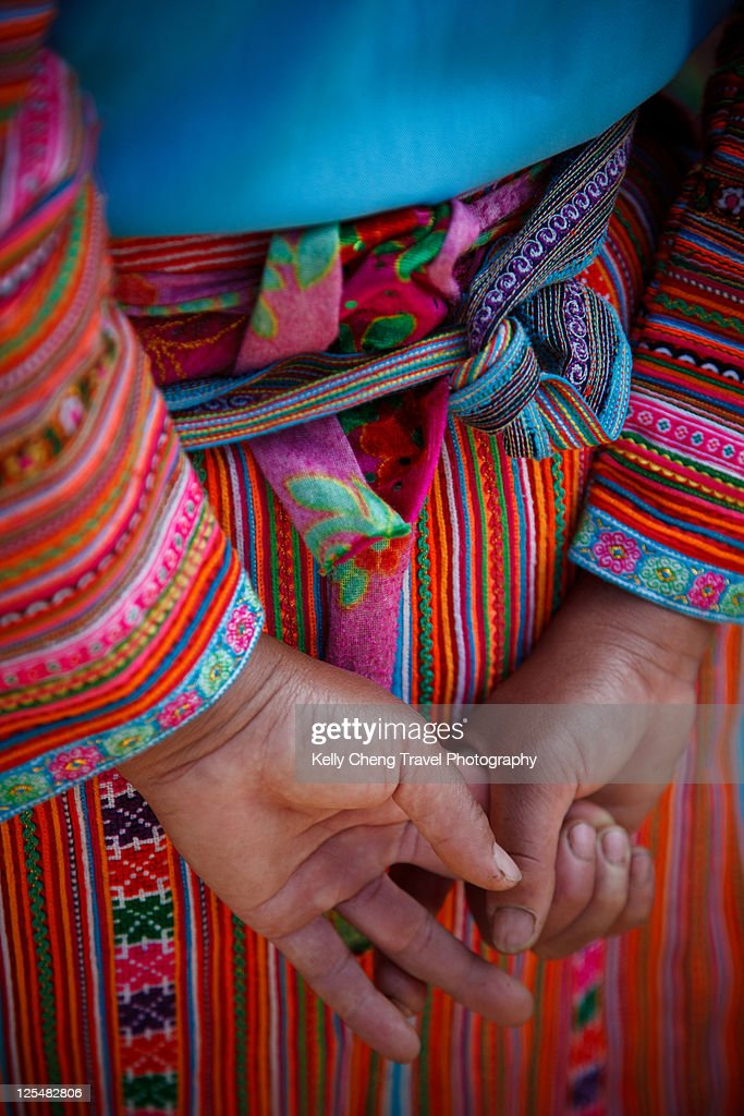 Flower Hmong traditional costume