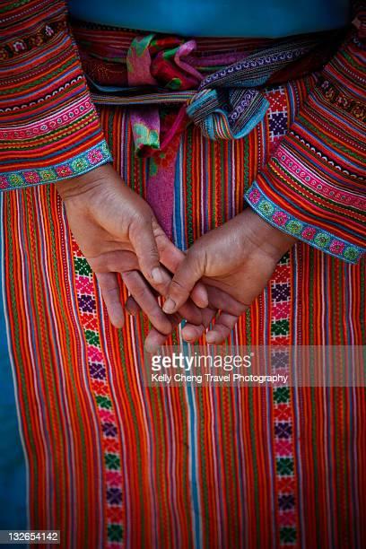 Flower hmong tribe