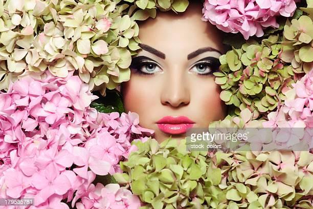 portrait de fleur