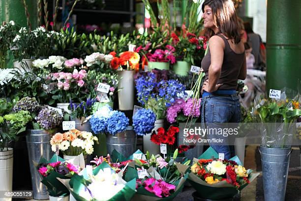 Flower stall Borough Market