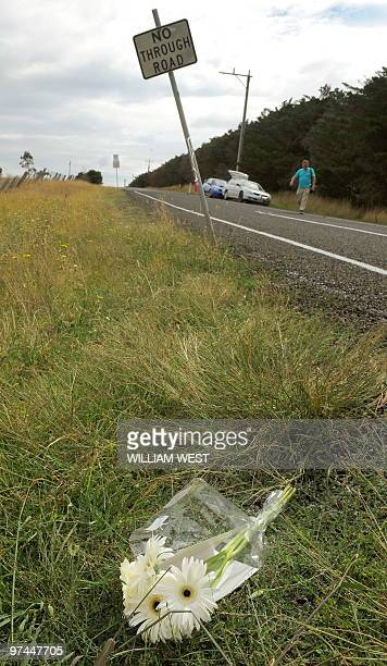 Flowers and a card lay close to the site of where the body of threeyearold Indian boy Gurshan Singh was found in Melbourne on March 5 2010 Australian...
