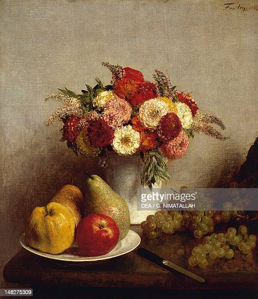 Flowers and fruits by Henri FantinLatour Paris Musée D'Orsay