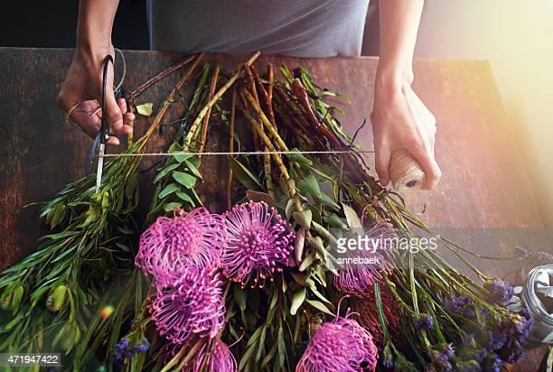 Fleurs apportent de la couleur à votre vie