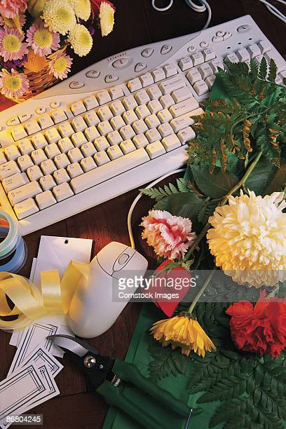 Flowers by computer