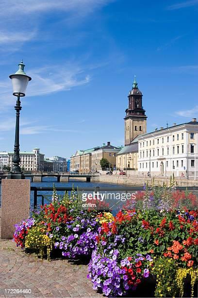Flowers in lovely Gothenburg, Sweden