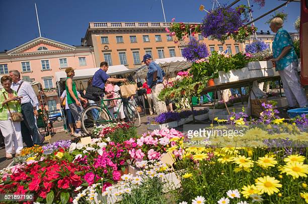 Flowers in Market Square