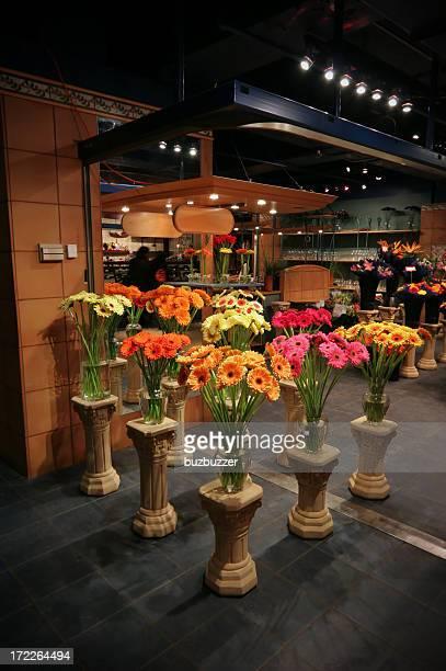 Blumen in einem Online-Store