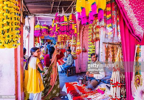 Flowers' seller near Badi Chaupar
