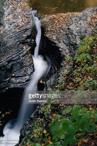 Flowing waterfall : Stock Photo